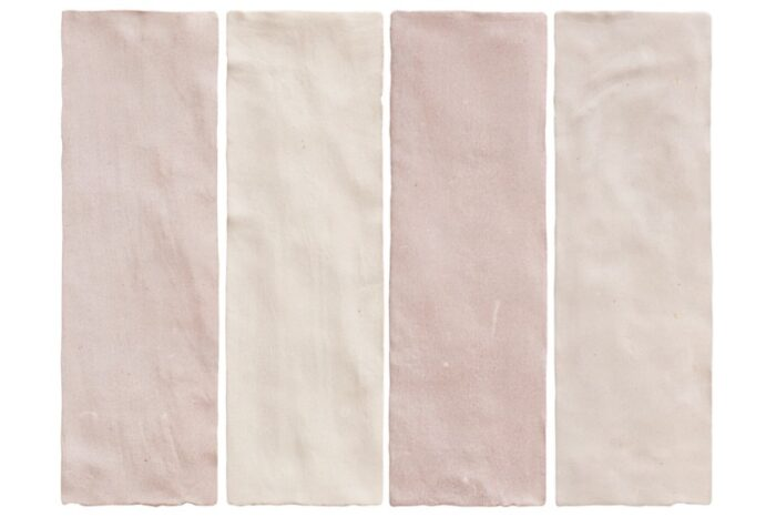 pink wall tile swatch