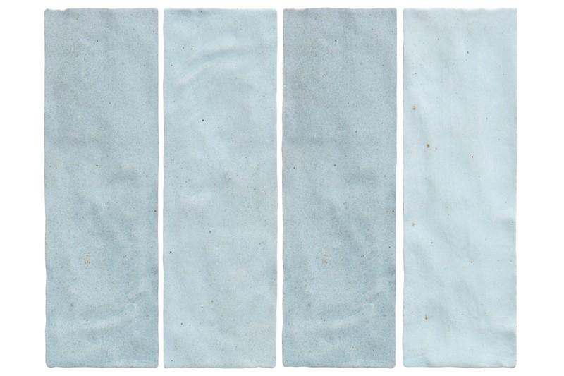 blue wall tile swatch